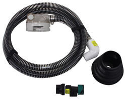 SewerSolution Macerator System for RV Waste Tanks - Bayonet Fitting and 4-in-1 Adapter - 10'