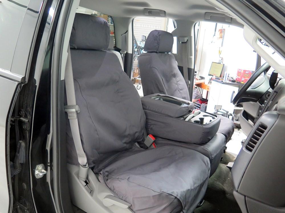 Covercraft Seatsaver Custom Seat Covers Front Charcoal