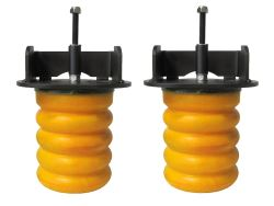 SuperSprings 2014 Ford F-250 and F-350 Super Duty Vehicle Suspension
