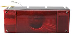 "Over 80"", Rectangular Submersible Trailer Tail and License Light, 3 Wire, 8-Function, Left Hand"