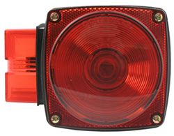 "Over 80"" Wide, Square Submersible Trailer Tail Light with License Plate Light, 8-Function, Left"