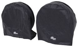 "SnapRing TireSavers Tire Covers - 27"" to 29"" Diameter - Black Vinyl - Qty 2"