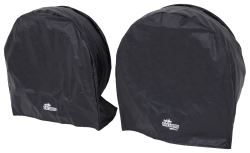 "SnapRing TireSavers Tire Covers - 30"" to 32"" Diameter - Black Vinyl - Qty 2"
