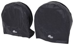 "SnapRing TireSavers Tire Covers - 33"" to 35"" Diameter - Black Vinyl - Qty 2"