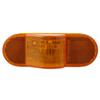 "Sealed, 6-1/2"" Mid-Ship Turn Signal and Side Marker Light - Amber"