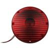 "7"" Round Transit Stop and Tail Light - Red"