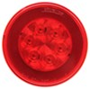 GloLight LED Trailer Tail Light - Stop,Turn,Tail - Submersible - 21 Diodes - Round - Red Lens