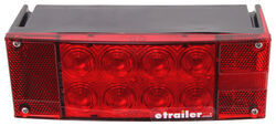LED Trailer Tail Light - 6 Function - Submersible - 12 Diodes - Rectangle - Red Lens - Passenger