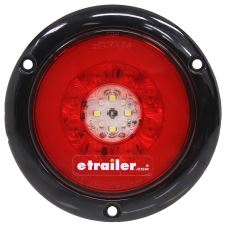 GloLight LED Trailer Tail Light - Stop, Tail, Turn, Backup - Submersible - 24 Diodes - Weathertight