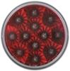 "Miro-Flex, Sealed, 4"" Round, Stop/Turn/Tail Light, 12 LEDs, Reflector - Red w/ Clear Lens"