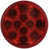 "Miro-Flex LED Trailer Stop/Turn/Tail Light - 12 Diode, 12 Volts - 4"" Round - Red"