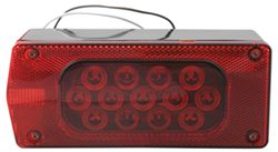 "Over 80"", Aero Pro Submersible LED Trailer Tail and License Light, 8-Function, 23 Diode, LH"
