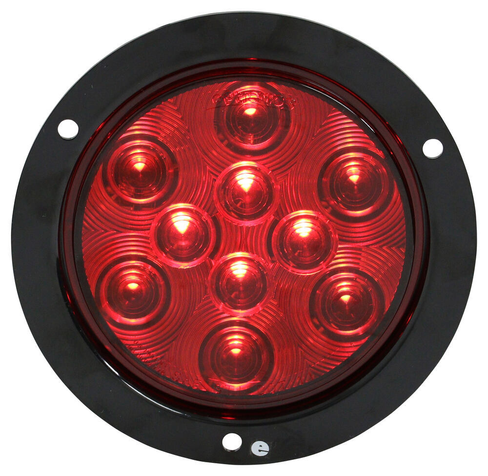 Sealed 4 Quot Round Led Trailer Stop Turn And Tail Light