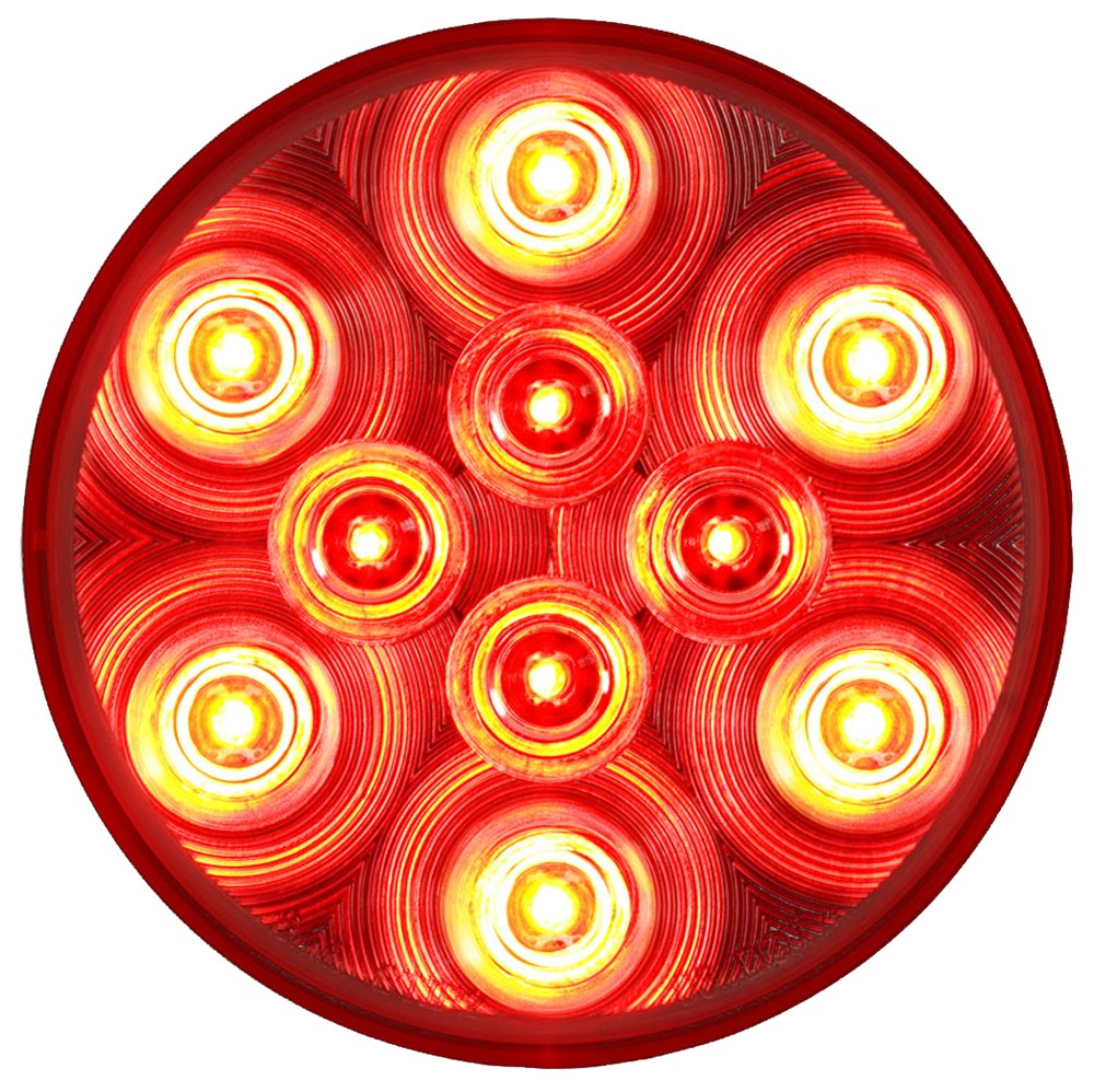 Sealed 4 Quot Round Led Trailer Stop Turn Tail Light 3