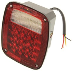 Jeep-Style Combination LED Tail Light w/ Backup Light - Passenger Side