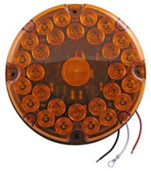 Transit Turn Signal and Parking Light - LED - Submersible - 31 Diodes - Amber Lens