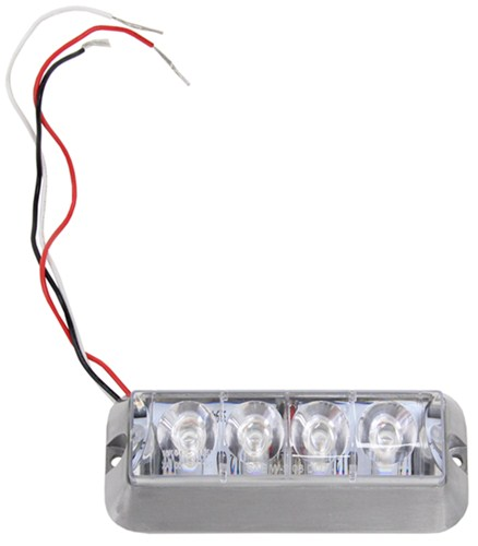 STRL4A_4_500 compare custer 4 led strobe vs bully bumper mount etrailer com 3 wire strobe light wiring diagram at bayanpartner.co