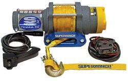 Superwinch Terra Series ATV Winch - Synthetic Rope - Hawse Fairlead - 2,500 lbs