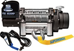 Superwinch Tiger Shark Off-Road Winch - Wire Rope - Roller Fairlead - 15,500 lbs