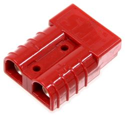 Spectro Stackable Electrical Quick-Connect - 6 Gauge - 50 Amps - Red - Qty 1
