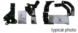 Custom Mounting Bracket Kit for <strong>SnowBear</strong> Hydraulic and Winter Wolf Snowplows - SB397-010