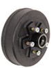 Titan 5 on 4-1/2 Complete Hub-and-Drum Assembly - Electric or Hydraulic Brakes - 10""