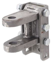 "Titan 2-Tang Clevis w/ 2-Position Adjustable Channel - 1"" Pin Hole - 20K"