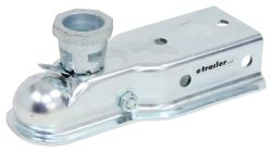"Titan Zinc-Plated Coupler - Multi-Fit Ball - 3"" Channel - Bolt On - 5,000 lbs"