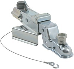 Titan Zinc-Plated, A-Frame Brake Actuator - Drum - Multi-Fit Ball - Weld On  - 6,000 lbs
