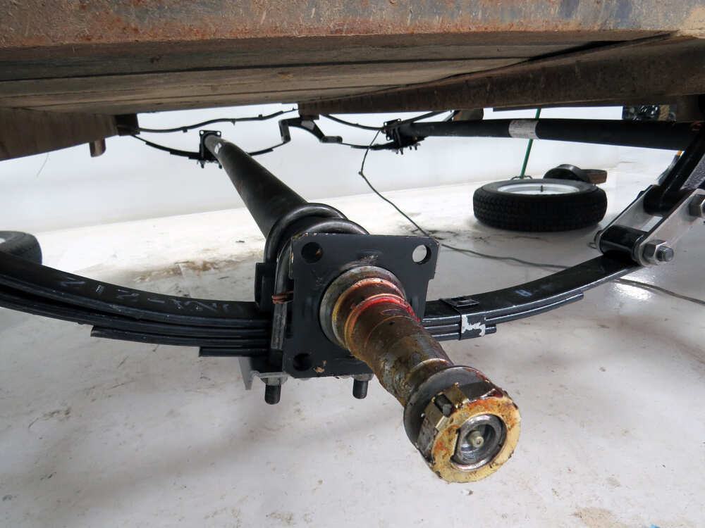 Heavy Duty Hubs And Spindles : Ford f and heavy duty dexter trailer axle beam