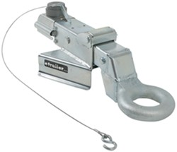 Titan Zinc-Plated, A-Frame Brake Actuator - Drum - Lunette Ring - Weld On - 7,500 lbs