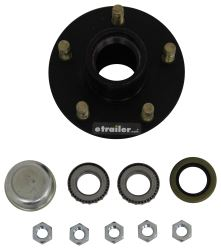 Trailer Hub Assembly for 2,000-lb Axles - 5 on 4-1/2 - Cast
