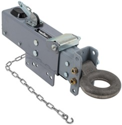Titan Adjustable-Channel Brake Actuator - Painted - Drum - Lunette Ring - Bolt On - 12,500 lbs