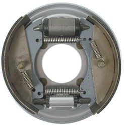 "Titan Hydraulic Drum Brake Assembly - Free Backing - Dacromet - 8-1/2"" - Left Hand - 3,000 lbs"