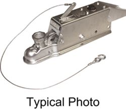 Titan Zinc-Plated Brake Actuator w/ Electric Lockout - Disc - Multi-Fit Ball - Bolt On - 7,000 lbs