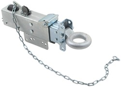 Titan Zinc-Plated, Adjustable-Channel Brake Actuator - Drum - Lunette Ring - Bolt On - 12,500 lbs