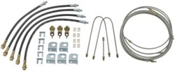 Titan Hydraulic Brake Lines and Fittings for Tandem-Axle, Torsion-Axle Trailers