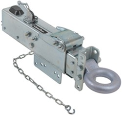Titan Zinc-Plated, Adjustable-Channel Brake Actuator - Drum - Lunette Ring - Bolt On - 20,000 lbs