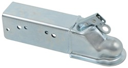 Titan Zinc-Plated Straight-Tongue Coupler - 21,000 lbs