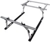TracRac SR Sliding Truck Bed Ladder Rack w/ Over-the-Cab Extension - 1,250 lbs
