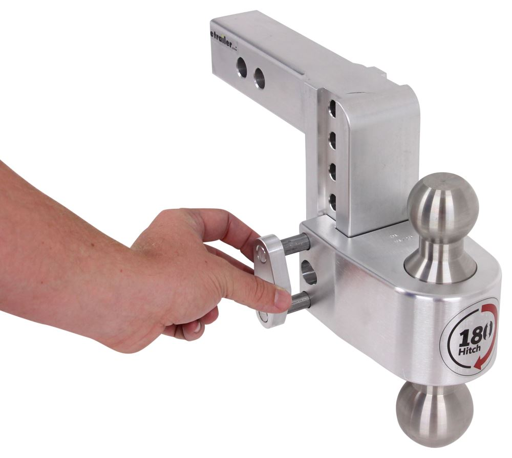 180 Hitch 2 Ball Mount W Stainless Steel Balls 2 Quot Hitch