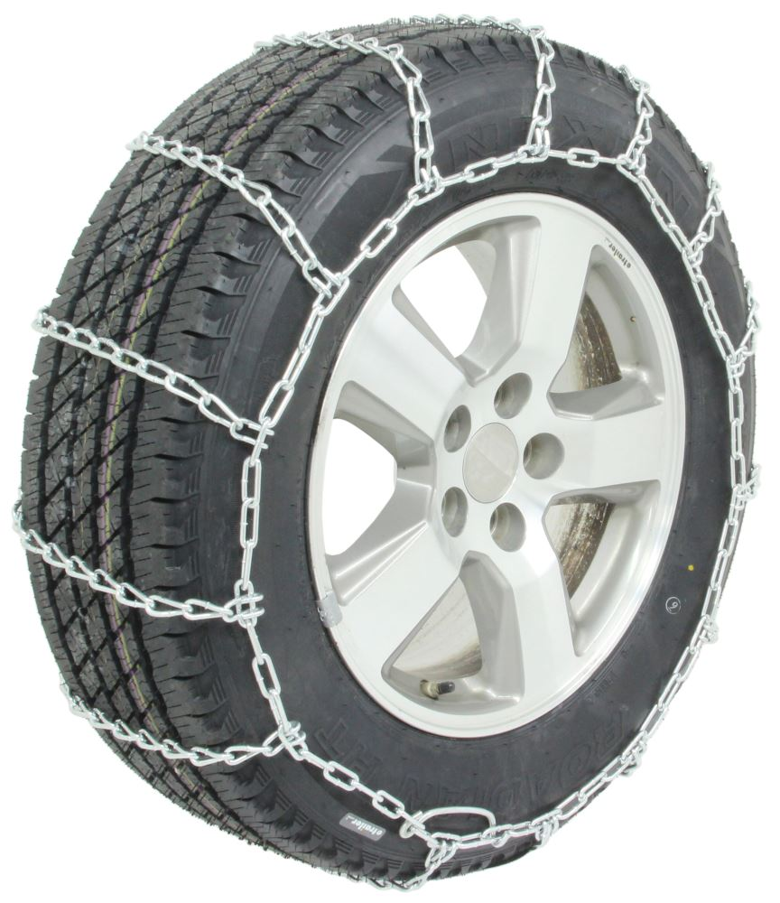 Titan Chain Snow Tire Chains Ladder Pattern Twist