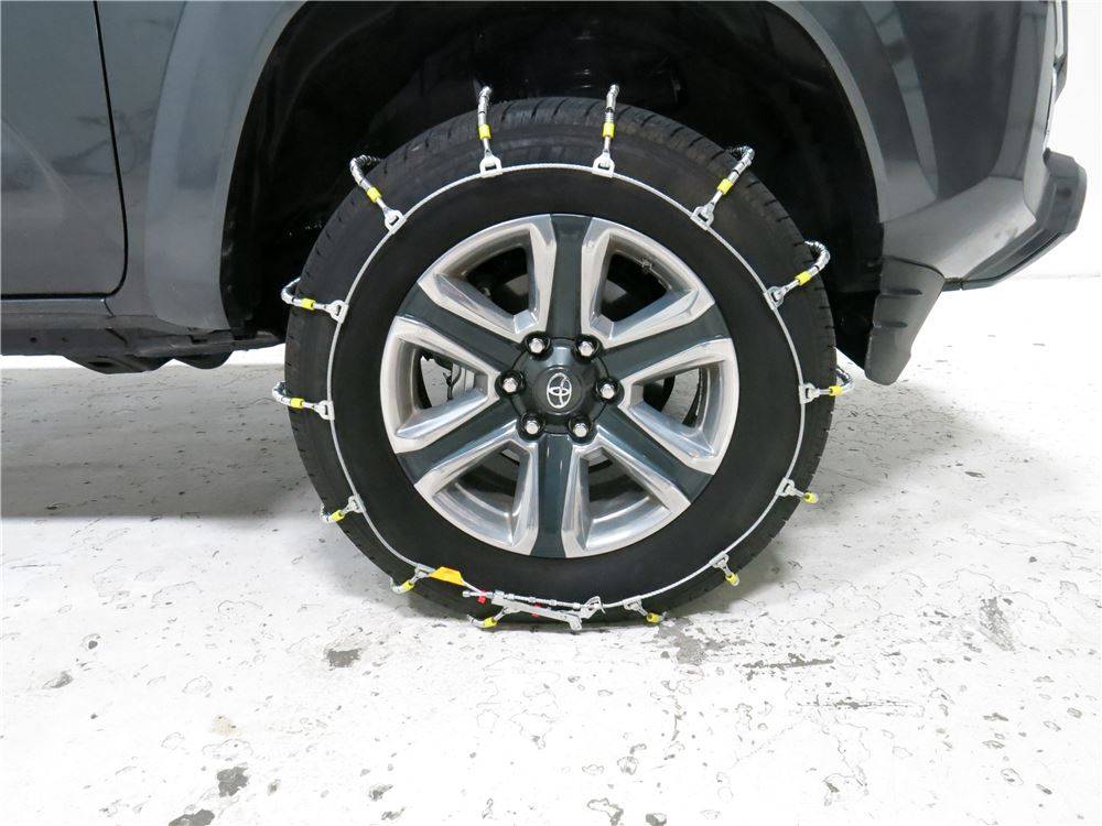 toyota tacoma titan chain cable snow tire chains