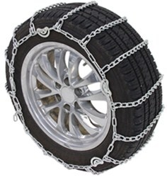 Titan Chain Snow Tire Chains with Cams - Ladder Pattern - Twist Links - 1 Pair