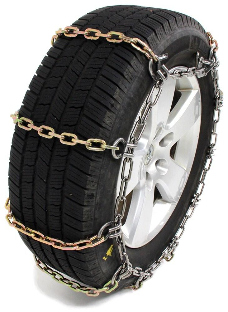 1989 Dodge Ram >> Titan Chain Heavy Duty Alloy Snow Tire Chains - Ladder Pattern - Square Links - 1 Pair Titan ...