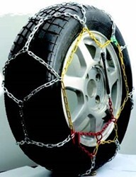 Titan Chain Alloy Snow Tire Chains - Diamond Pattern - Square Link - 1 Pair