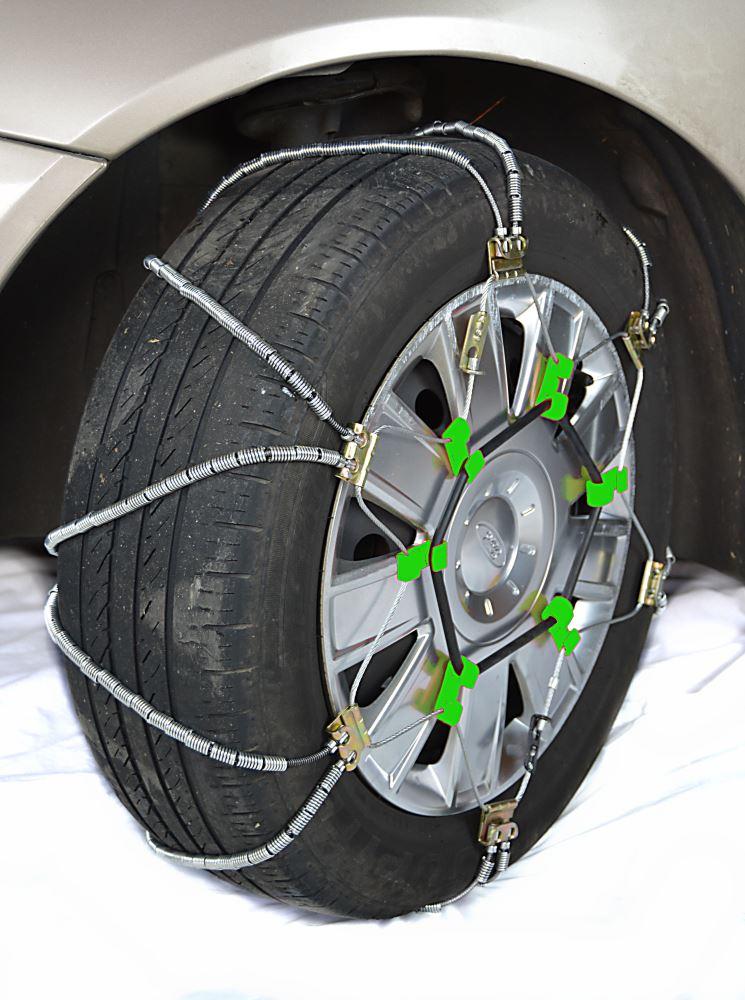titan chain diagonal alloy cable snow tire chains passenger car 1 pair titan chain tire. Black Bedroom Furniture Sets. Home Design Ideas