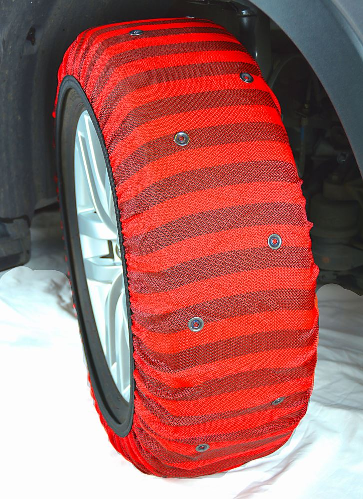 Tire Size Code >> ISSE Hybrid Snow Socks - Size 58 - 1 Pair Titan Chain Tire Chains TCH58