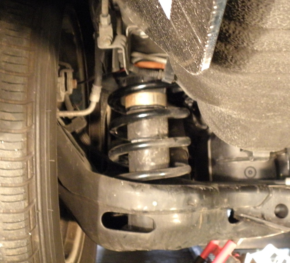 2008 Chrysler Town And Country Vehicle Suspension