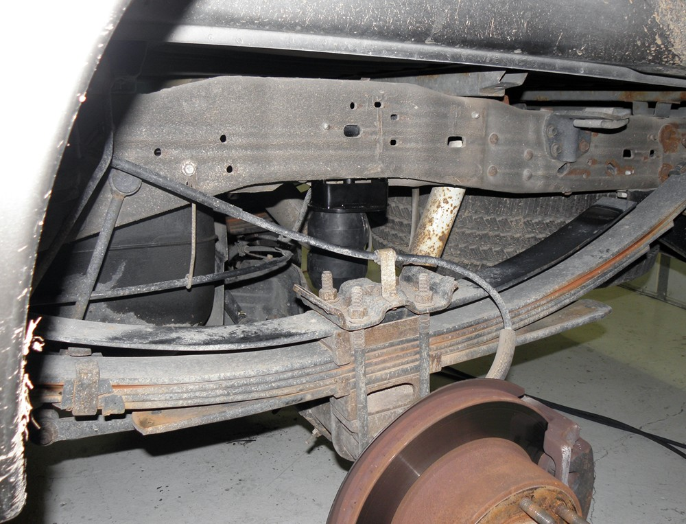 2008 Ford F 250 And F 350 Super Duty Vehicle Suspension